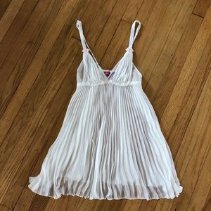 Betsey Johnson Intimates Accordion Babydoll